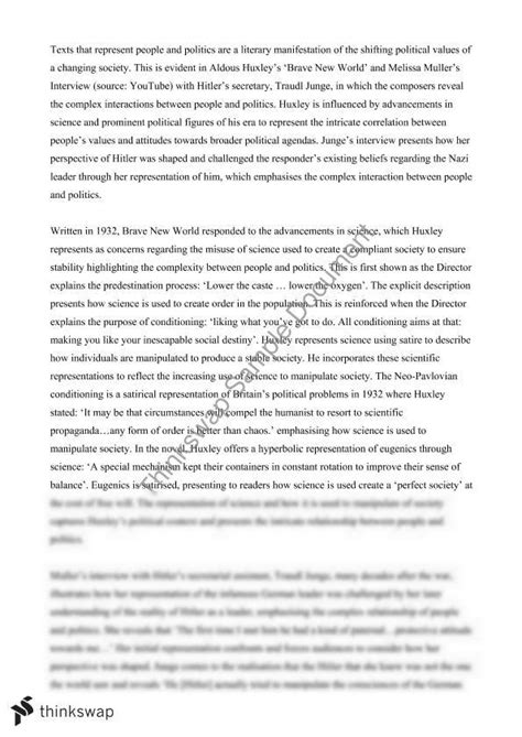Thesis Statements On The Renaissance by Thesis Statement For The Book Brave New World