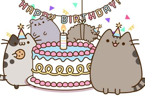 Pusheen Birthday Card 25 Best Ideas About Happy Birthday Cards Online On