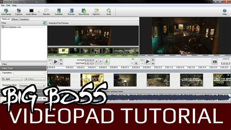 tutorial menggunakan videopad video editor videopad video editor tutorial exporting it in hd youtube