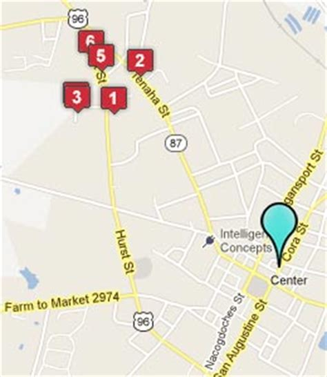 map of center texas center texas hotels motels see all discounts