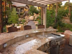 ideas for outdoor kitchens small outdoor kitchen ideas pictures tips from hgtv hgtv