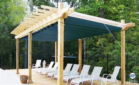Pergola Canopies Retractable by Canopy Idea Guide Awnings Sunrooms Installation Service
