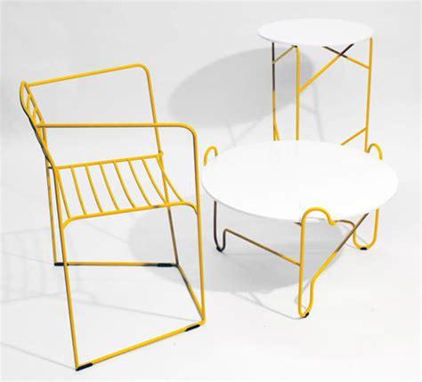 design milk furniture bent steel furniture by zbigniew strzebonski design milk