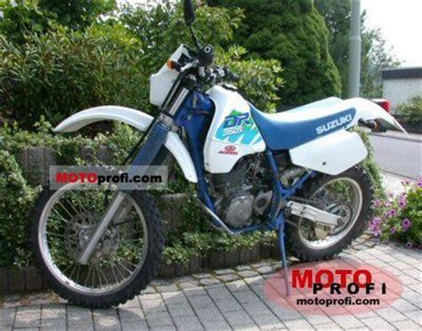 1991 Suzuki Dr350s Suzuki Dr 350 S 1991 Specs And Photos
