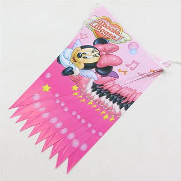 Paper Bag Minie Mouse 24cm X 24cm X 10cm best minnie mouse baby shower products on wanelo