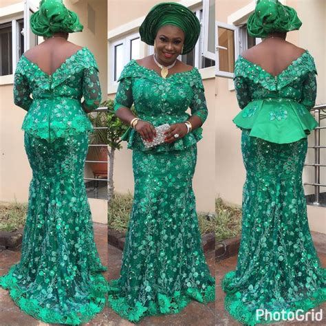 aso ebi lace styles lovely aso ebi styles lace skirt and blouse dezango