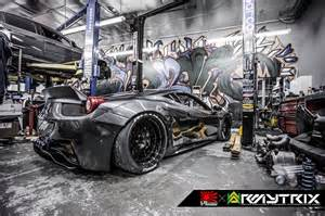 australia 458 italia with armytrix baddest 458 italia on the planet with armytrix