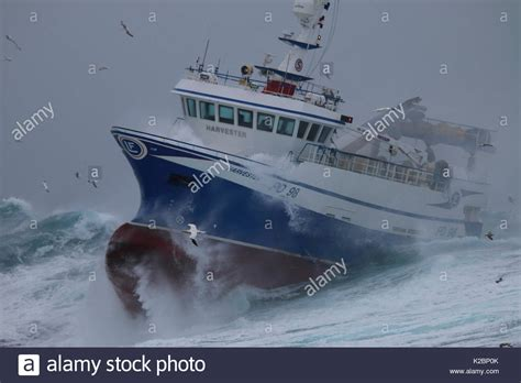 bass boat in storm boat in a storm stock photos boat in a storm stock