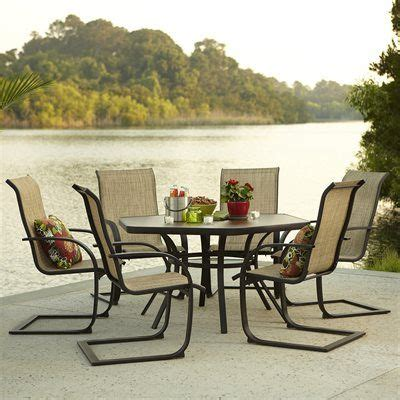 garden treasures hayden island table garden treasures hayden island 7 outdoor dining set
