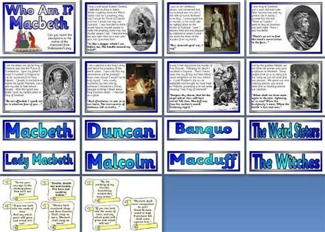 Themes In Macbeth Ks2 | literacy resource william shakespeare s macbeth