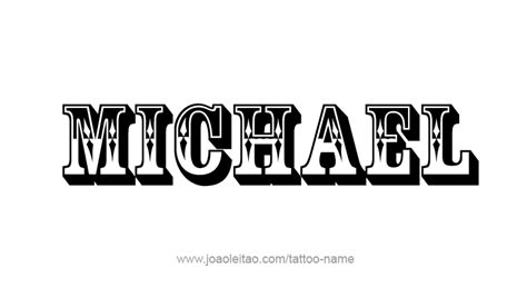 tattoo ideas for the name michael michael name wallpaper www imgkid com the image kid