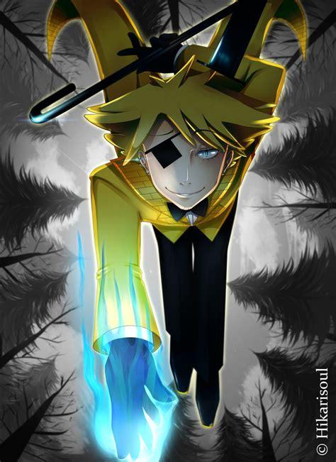 bill cipher anime gf deal bill cipher by hikarisoul2 on deviantart