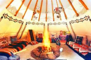 tipi interior traditional american items