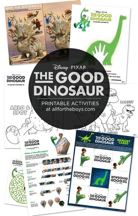 the good dinosaur activities the good dinosaur printable activities all for the boys