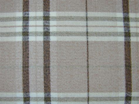 Tartan Plaid Curtains Tartan Plaid Check Chenille Green Beige Curtain Fabric By The Metre