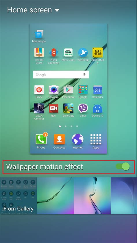s6 edge wallpaper motion effect android 5 1 1 for the galaxy s6 and galaxy s6 edge what s