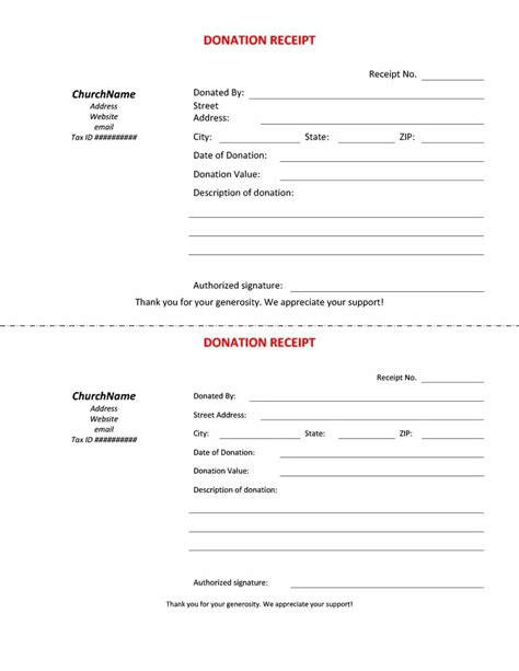 donation receipt template vistaprint 40 donation receipt templates letters goodwill non profit