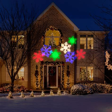 projection christmas lights bed bath and beyond gemmy lightshow kaleidoscope red and green projection