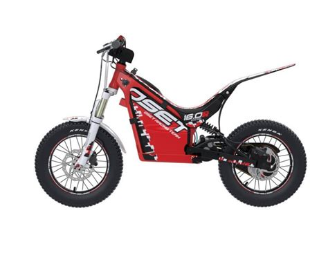 Trial Motorrad Kinder by Oset 16 Racing E Trial Bike