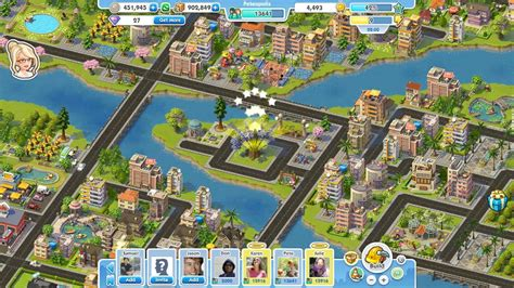 Build Virtual Worlds on Facebook in The Ville, SimCity