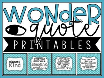 Printable Quotes From Wonder | wonder r j palacio quote printables by diary of a 21st