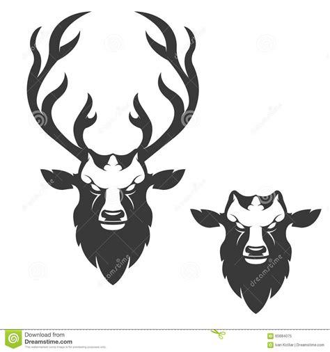 T Shirt Logo Rusa deer illustration stock vector illustration of