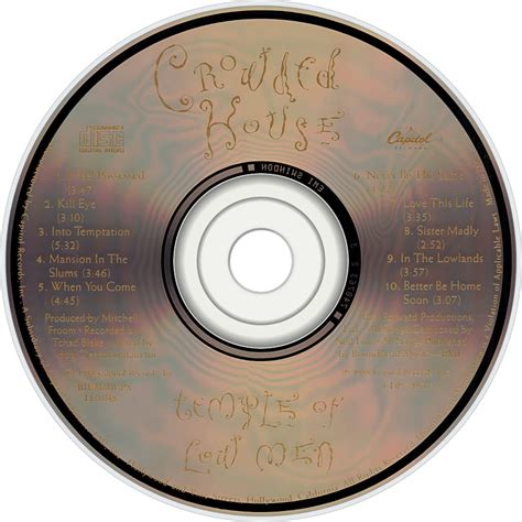 Cd Crowded House Temple Of Low crowded house fanart fanart tv
