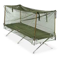 Cot Canopies by New U S Military Surplus Mosquito Net 227147 Cots At