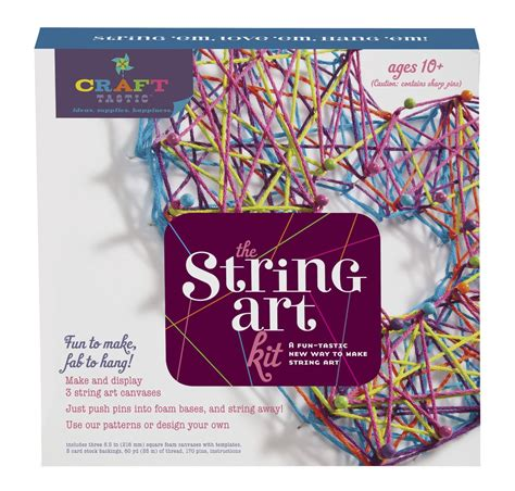 String Craft Kit - string kit by craft tastic nerdplaythings