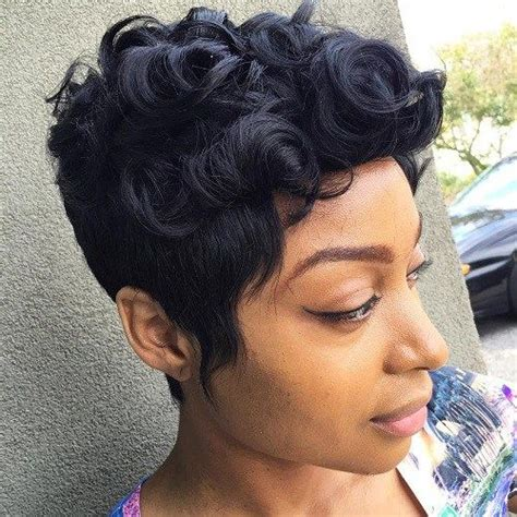 pixie hairstyles with extensions 35 short weave hairstyles you can easily copy pixie