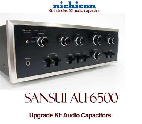 capacitor upgrade sansui au 6500 upgrade kit audio capacitors