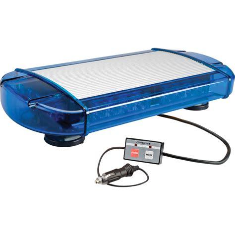 Blue Led Mini Light Bar Wolo Outer Limits 3 Low Profile Mini Led Light Bar Blue Lens Model 3775m B Northern