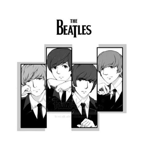 if the beatles was an anime anime thebeatles
