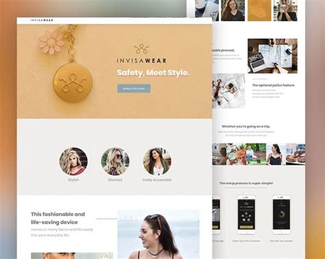 product landing page templates product landing page psd template psd