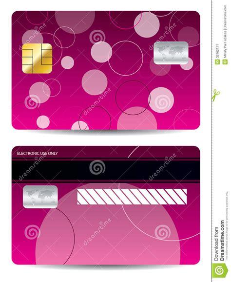 Pink Credit Card Digital by Pink Credit Card Stock Vector Image Of Debt Bank Retail