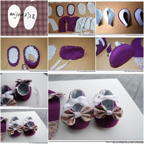 Handmade Shoes Tutorial - diy baby shoes with bows shoe box organizer diy