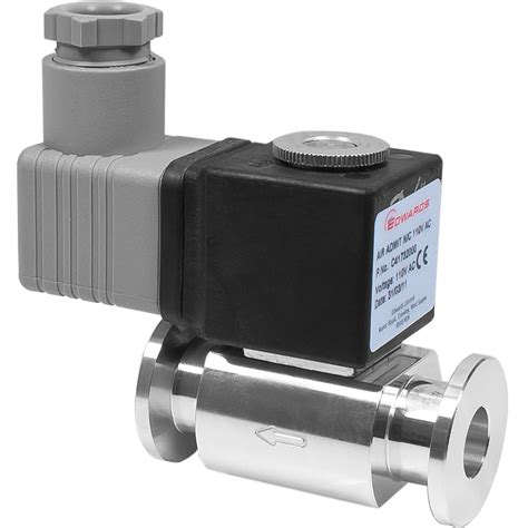 edwards ipva10ek air admittance valve normally closed kf10 nw10 110vac aluminum c41732000