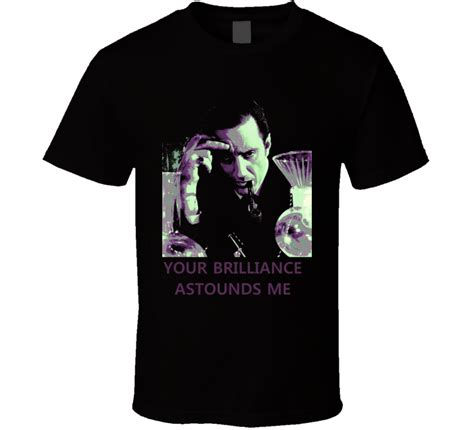 T Shirt Sherlock Anime sherlock retro basil rathbone tv