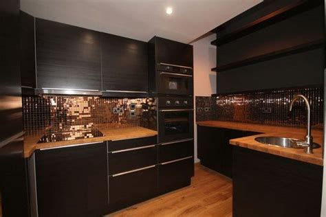 copper kitchen cabinets black and copper kitchen ideas modern extravagant and