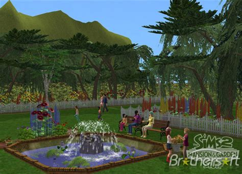 The Sims 2 Mansion Garden Stuff Free
