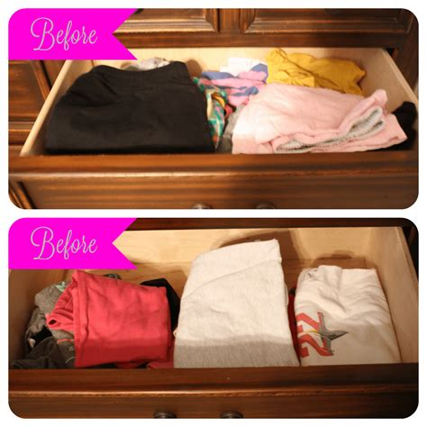 How To Organize Clothes Drawers by Organize By Filing Your Clothes The Pinning