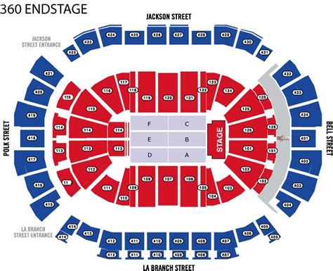 toyota center floor plan seating maps houston toyota center