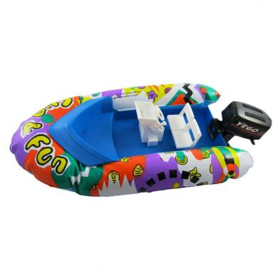 inflatable toy boat with motor 38cm inflatable hovercraft boat w steerable motor
