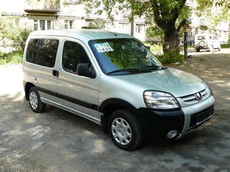 2008 Peugeot Partner Pictures 1 4l Gasoline Ff Manual
