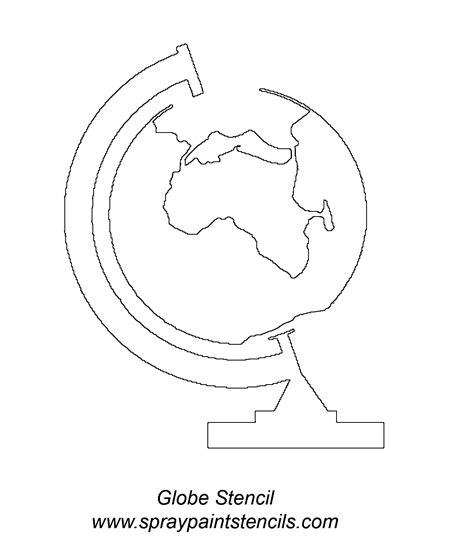 stencil requests for october 2007 globe stencil www pixshark com images galleries with a