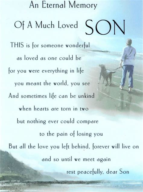 quotes  loss  son   touch  heart enkiquotes