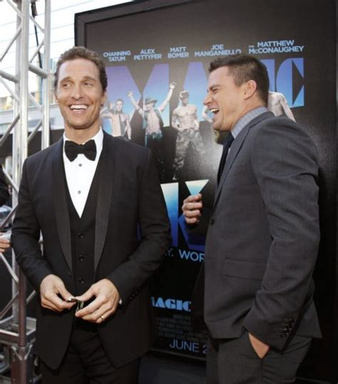 channing tatum matthew mcconaughey matt premi 232 re du film magic mike lapresse ca