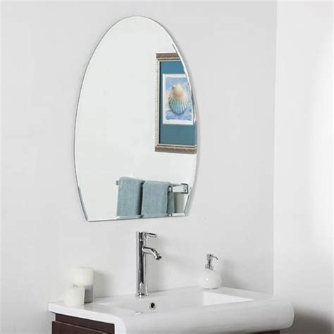 Beveled Bathroom Mirrors by Beveled Frameless Bathroom Mirrors Bellacor