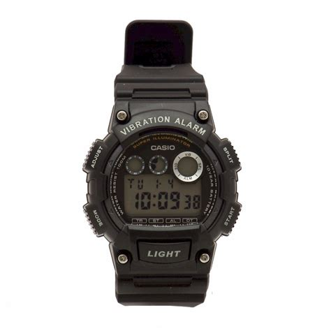 Casio S casio s w 735h 1avcf black digital chronograph
