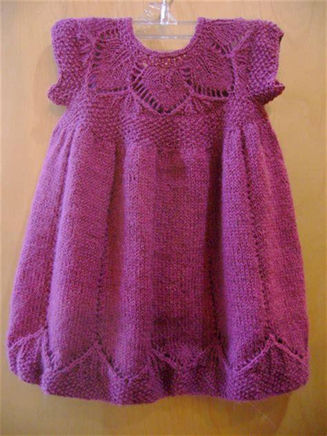 pattern knitting baby dress free knitting pattern baby clothes 2012